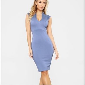 Blue Fashion Nova Dress